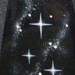 Sternenhimmel mit Swarovskisteinen