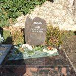 Urnenstelle aus Aruba mit Abdeckplatte