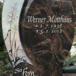 Hochstein aus Aruba mit Swarovskisteinen, vertiefte Inschrift silber getönt
