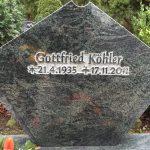 Verde Marithaka poliert, vertieft erhabene Inschrift